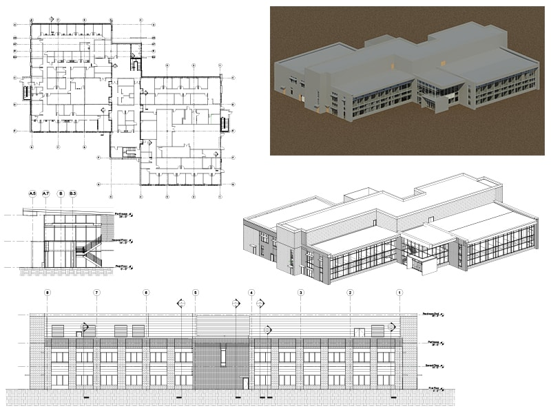 As built CAD to BIM 1
