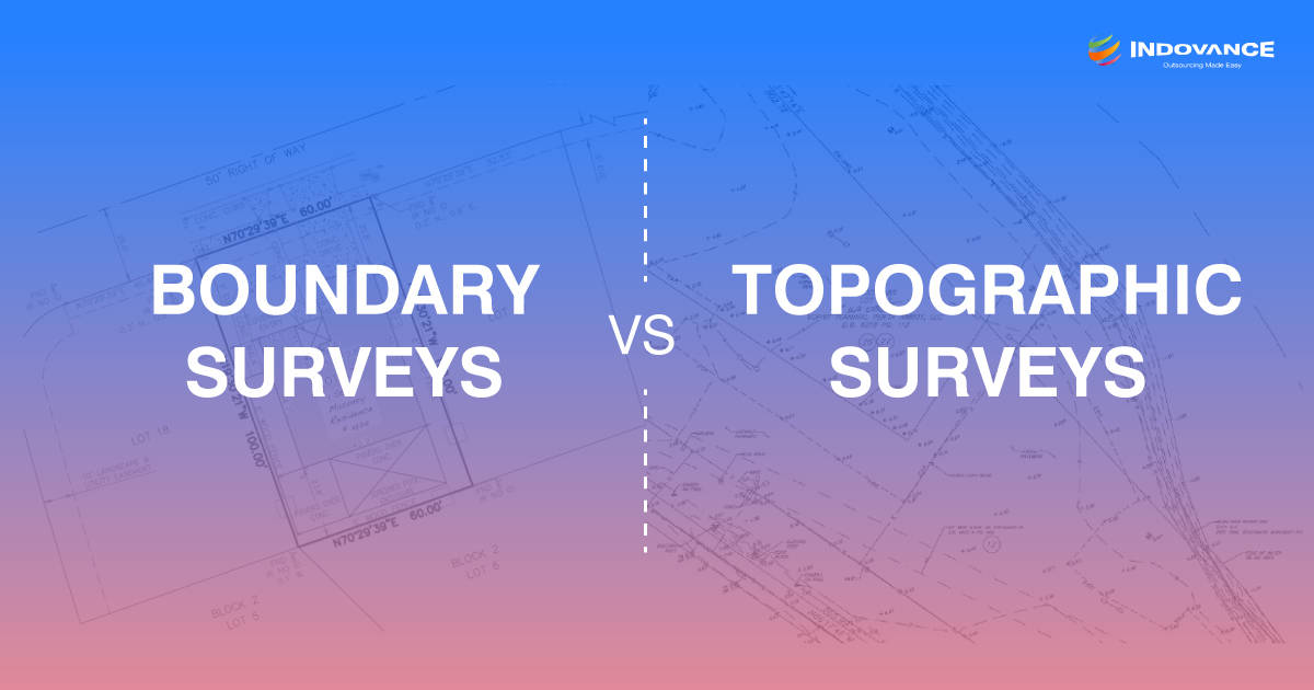 Boundary vs Topographic Surveys