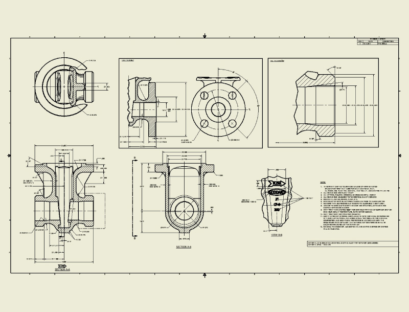 Mechanical Design and Drafting Outsourcing Services, India